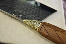 02273 龙泉夹钢斩骨刀