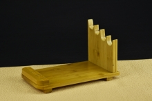02684 ---4件套装楠竹菜刀架