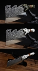 02751 蛟龙斩骨刀-银色装-复古装