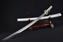 03020  梅飞色舞(武士刀)-(7铬不锈钢)时价